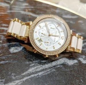 Michael Kors Diamante Bling Women's Watch 🤍🤍🤍